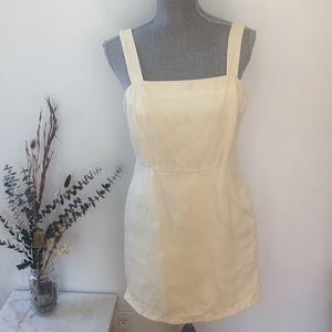 Wilfred Linen Blend Mini Dressa